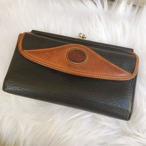 Vintage Dooney and Bourke wallet leather